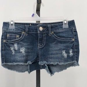 Wallflower junior sz 1 jean shorts